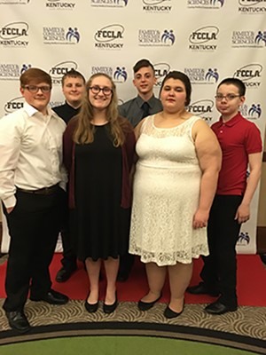 FCCLA State Meeting Group