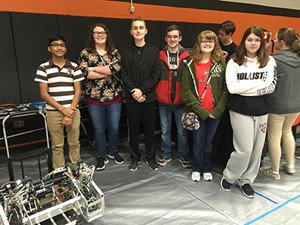 WCHS students attend Robotics Competition
