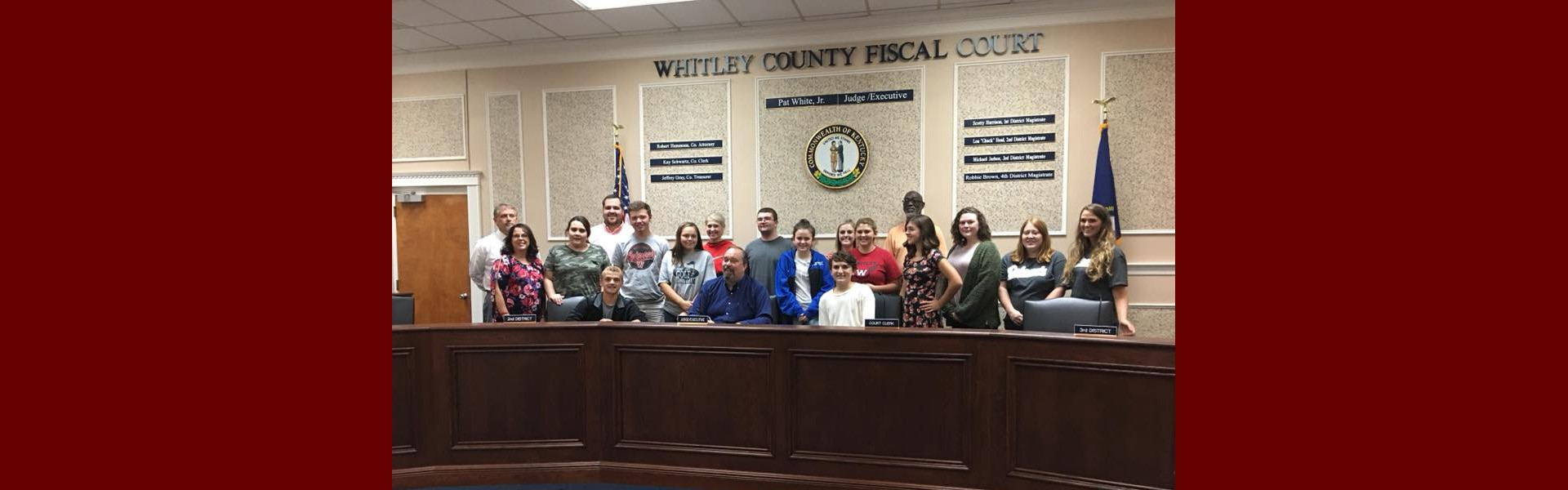 Judge Executive Pat White Signs GEAR UP Week Proclamation