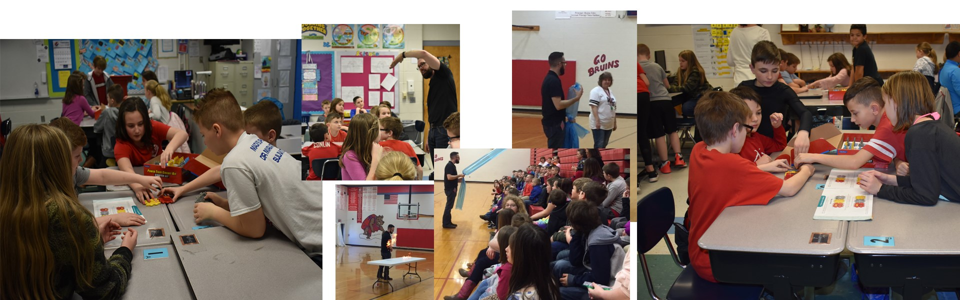 Mr. Science visits Oak Grove