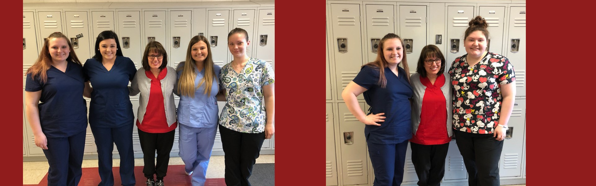 Wear your scrubs to school day!