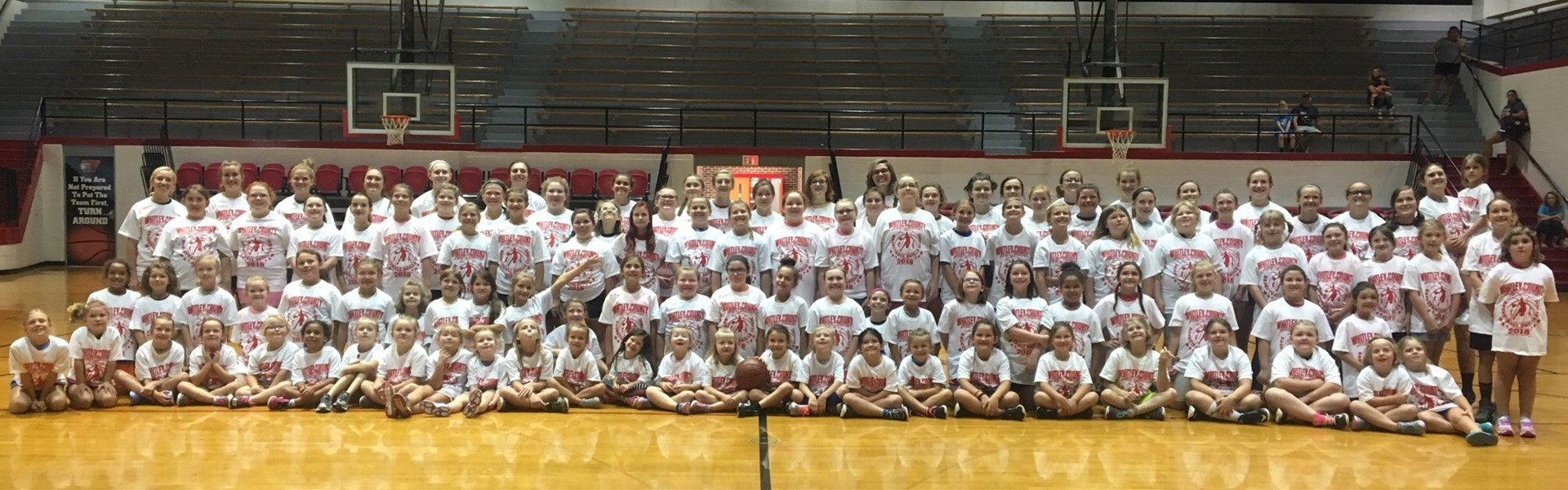 Lady Colonels Basketball Camp