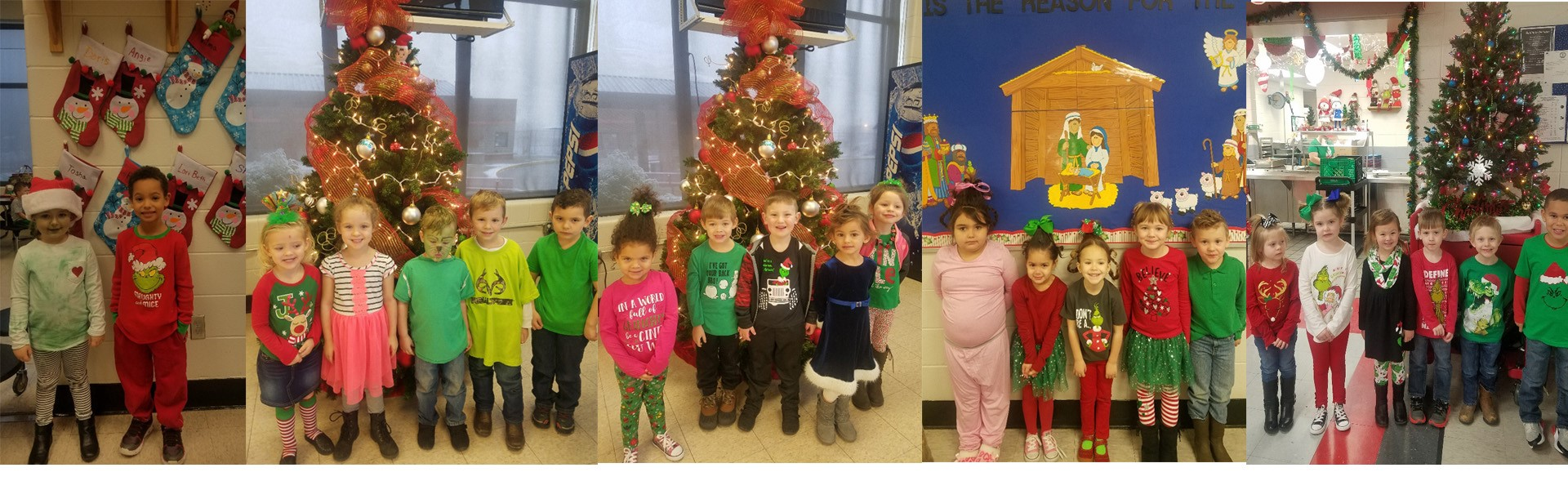 Today at WCCP our Preschool had Grinch Day